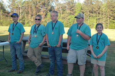 jr. 4-h shooters
